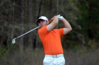 Austin Langdale shot his career best round in the first round and finished in a tie for third place.
