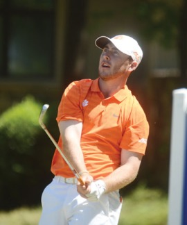 Clemson junior Austin Langdale is one of four Tigers on the All-ACC team.