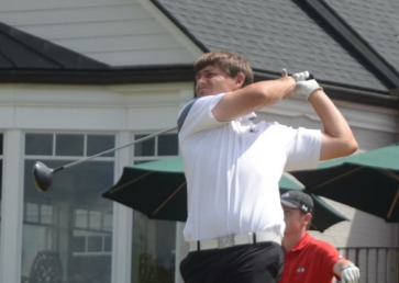 Wofford's Andrew Novak had the best round of the tournament firing a 7-under par 65 to finish second.