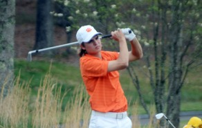 Carson Young was one of three Tigers to tie for third place.