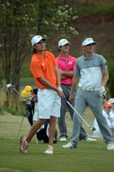 Carson Young is tied for third after the first round of the Clemson Invitational.