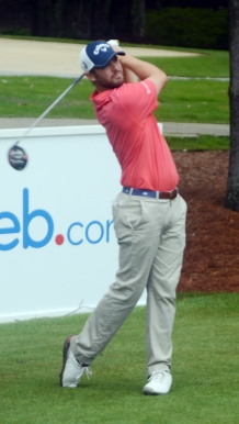 The Web.com leading money winner, Wesley Bryan is tied for third place at 10-under par.