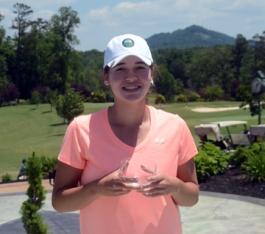 Carly Lyvers First Flight Winner