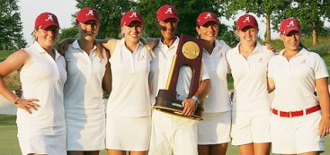 Alabama coach Mic Potter led his 2012 Crimson Tide team to the NCAA Championship.