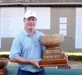 Rick Cloninger won his second Chanticleer National Senior Invitational. He also won the tournament in 2013.