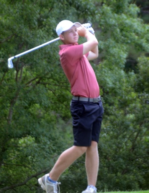 Nathan Franks of Roebuck won the 13-14 year old division title at the SCGA Junior by 7 shots.