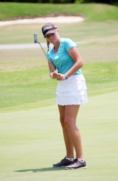 Kerington Lamb shot her best tournament round and won the Upstate Junior on her home course.