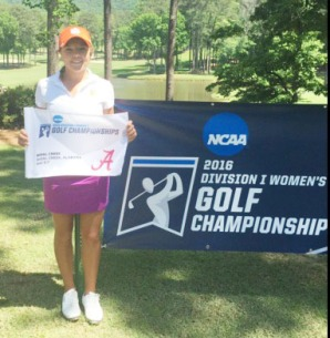 Stephenson was the first Clemson women's golf to play in the NCAA Championship.
