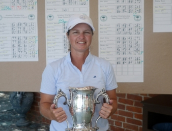Dawn Woodard won her seventh state amateur championship in the last nine years.