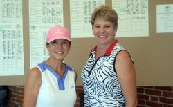 Flight winners, Dana Halliday and Leah Bohnen.