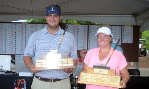 Harrison Corbin won his first major SCJGA championship claiming the top spot at The Blade. Emily Cox won her second straight girls title at the tournament held at Thornblade Club.