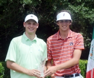 Doc Redman (left) and Trace Crowe (right) tied for second place.