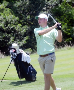 Incoming Clemson freshman Doc Redman was the first round co-leader and finished in a tie for second.