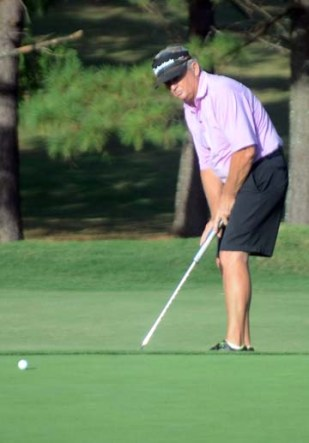 Mike Ridgeway won the Super Senior title at the Spartanburg County Senior Amateur.
