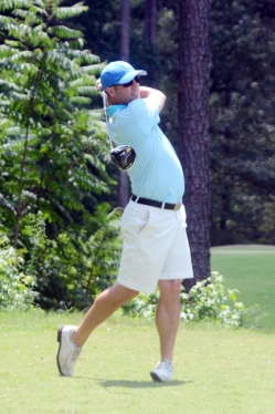 Corey Slocum tied for second place at the Greenville County Amateur.