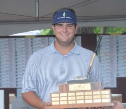 Harrison Corbin won The Blade Junior Classic at Thornblade Club.