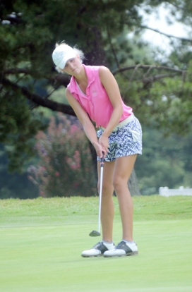 Christ Church High School golfer Peyton Gillespie finished as the runner-up after a ten hole playoff.