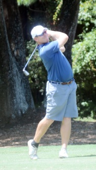 Holly Tree golfer Robert Lutomski was as high as third in the tournament before finishing in tenth.