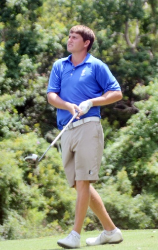 Wofford College golfer Andrew Novak finished 3 shots behind Young