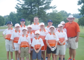 The Rolling Green PGA Junior Team.