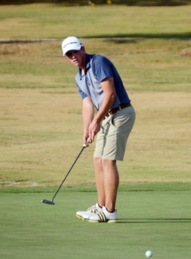Brady Hinkle of Lancaster won the Transou Junior at Cherokee National Golf Club.