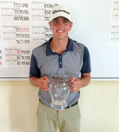 Brady Hinkle of Lancaster added the Transou title to the CGA SC Boys Match Play championship.