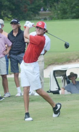 Trent Phillips came from four shots off the lead to win the Bobby Chapman Junior.