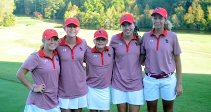 Boiling Springs finished second at the Upstate AAAAA Qualifying tournament. The team included Daniella Cobb, Amber Amaker, Sydney Roberts, Maggie Smith and Caitlyn Cash.
