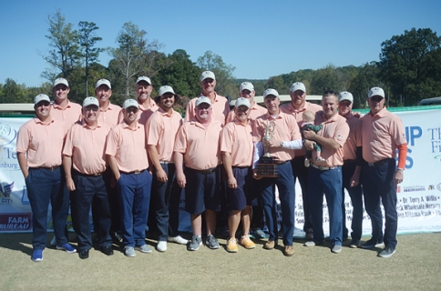 Greenville Cyder Cup team members, Duff Wagner, Dan Constantino, Max Johnson, Derrick Oyervides, Cory Slocum,Yancey Johnson,Mike Hartin, Jeremy Revis, Mike Gravley,Bobby Hines,Matthew Hopper, Rick Cobb andBryan Kelley.