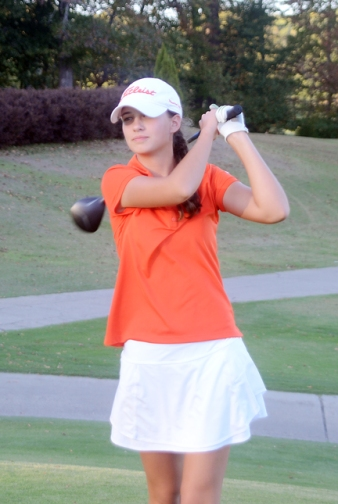 Emily Dunlap won her second straight Upstate championship by finishing on top of the AAAAA qualifying tournament.