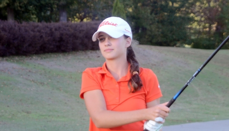 Emily Dunlap of Mauldin won the girls title at the Cheraw Fall Challenge. (File Photo)