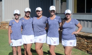 Emerald finished third at the AAA Qualifying tournament. The team included Caroline Ramsey, Jaida Trotter, Anna Grace Brock, Anna Parramore and Lauren Coker.