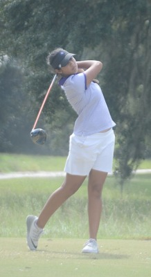 Freshman Natalie Srinivasan finished in a tie for eighth place.