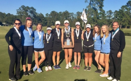 St James won their second straight state title. The Sharks are the SC AAAA champions.