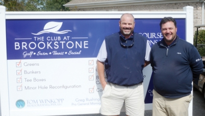 The Club at Brookstone superintendent Chuck Connolly and General Manager and Director of Golf Greg Rushing have been working to reopen the club since the middle of the summer.