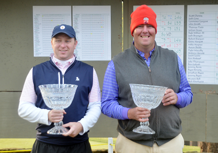 Matt Hayes and Garland Ferrell teamed up to shoot 10-under par and win the Chanticleer National Four-Ball Invitational.