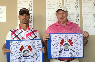 Bill Gee and Jim Nix won the Senior title at the Musgrove Mill Invitational.