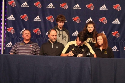 Nick Willis of Spartanburg Christian is one of two new recruits for the Wofford Terriers.