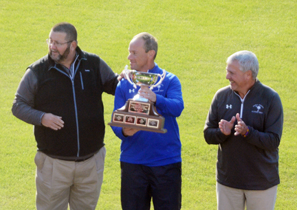 Dorman golf coach Lewis Terry coached the North All-Stars to a victory.