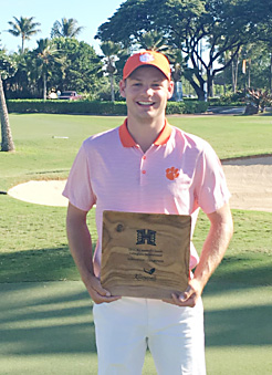 Doc Redman won his second tournament of the fall season with a victory in Hawaii.