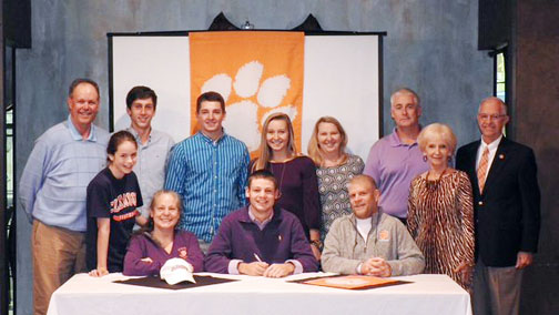 The freshman from Raleigh surprised some people when he choose Clemson over an in state school.