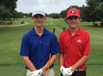 Phillips (l) and Jacob Bridgeman (r) battled all year for the top spot in the Player of the Year ranking.