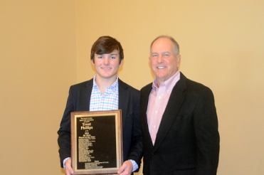 Champions Tour star Jay Haas presented the SCJGA Player of the Year award to Phillips for the second straight year.
