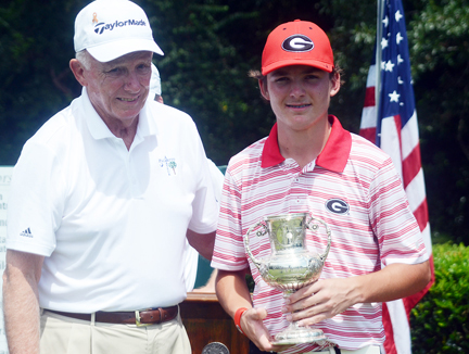 Phillips became the youngest winner in the history of the 40 year old Palmetto Amateur in Aiken.