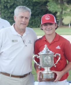 Phillips shot a final round 8-under par 64 to win the Bobby Chapman Junior.