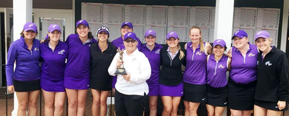 Converse College won their own tournament at the Carolina Country Club.
