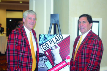 New RBC Heritage Chairman Doug Smith (left) and Tournament Director Steve Wilmot talk about the upcoming tournament.