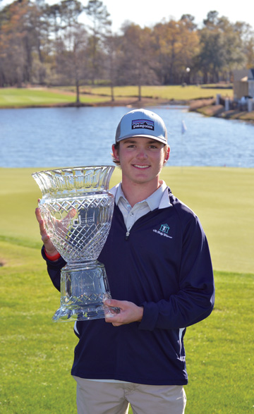 Trent Phillips won the Dustin Johnson World Junior Championship at Myrtle Beach.