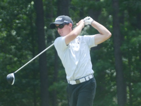Co-first round leader Jake Miller.
