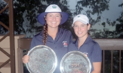 Gracyn Burgess and Baylee Evans won the Tradition at Pebble Creek.